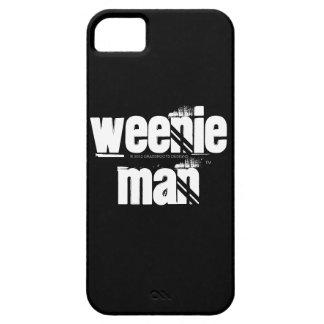 Hombre Smartphone del Weenie y cubiertas del iPhone 5 Carcasa