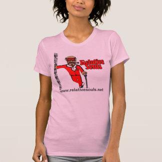 Hombre T (rosa) del alma de las señoras Camiseta