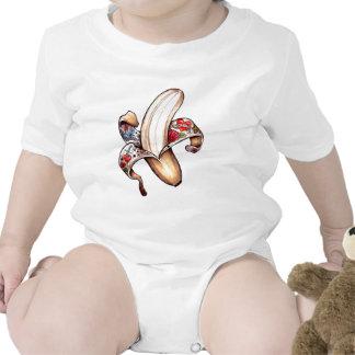 Hombre tatuado futuro trajes de bebé