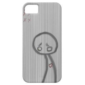 hombre triste iPhone 5 carcasas