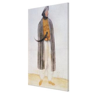 Hombre turco impresión en lienzo