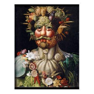 Hombre vegetal de Giuseppe Arcimboldo (Vertumnus) Postales