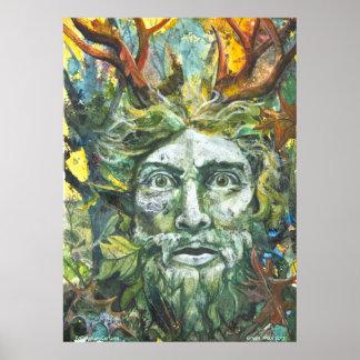 Hombre verde 2012 póster