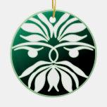 Hombre verde adorno de navidad