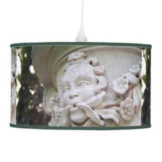 Hombre verde lámpara de techo