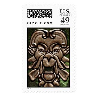 Hombre verde - sello
