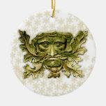 Hombre verde V2 - ornamento #3 Adorno De Reyes