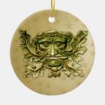 Hombre verde V2 - ornamento #4 Adorno De Navidad