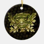 Hombre verde V2 - ornamento #6 Ornamento De Navidad