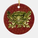 Hombre verde V2 - ornamento #7 Adorno De Reyes