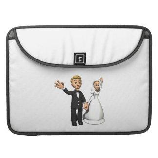 Hombre y esposa fundas para macbook pro