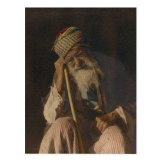 Hombre yemení postal