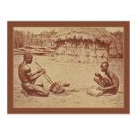 Hombres africanos tarjetas postales