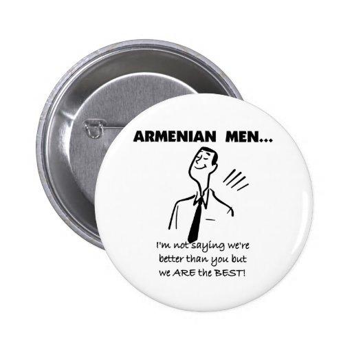 Hombres armenios pin