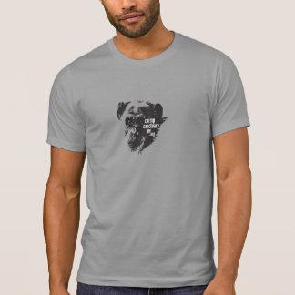 Hombres/camiseta unisex con imagen del chimpancé d