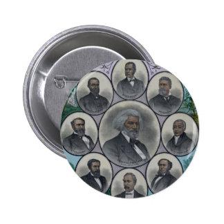 Hombres coloreados distinguidos pin