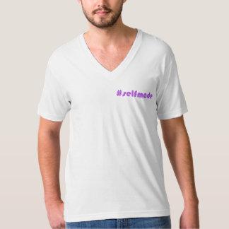 Hombres con cuello de pico camisas