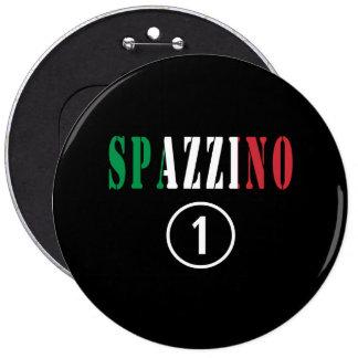 Hombres de basura italianos: Uno de Spazzino Pin Redondo 15 Cm
