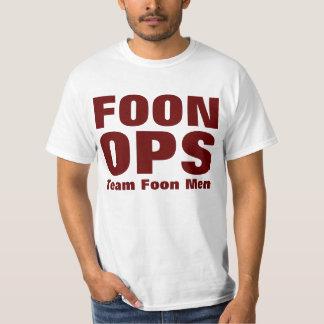 Hombres de Foon del equipo de FOON OPS Playeras