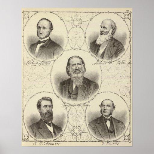 Hombres de la costa de New Jersey Poster