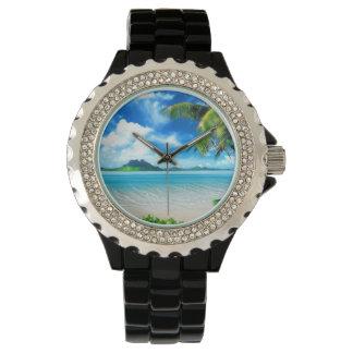 Hombres de las zonas tropicales relojes de mano