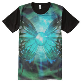 Hombres de MetaMorphysical por todo la camiseta Playera Con Estampado Integral
