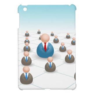 Hombres de negocios de la red de comunicaciones