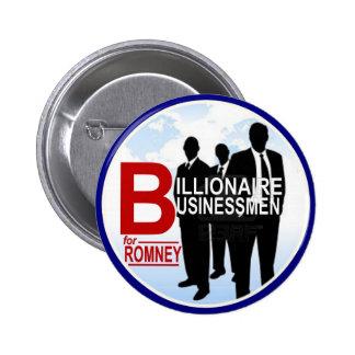 Hombres de negocios del multimillonario para Romne Pin