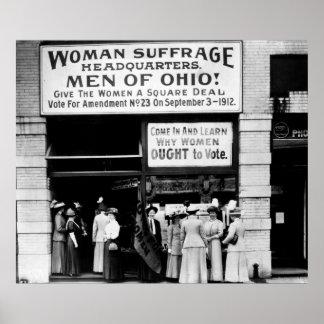 ¡Hombres de Ohio! : 1912 Posters