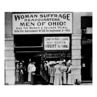 ¡Hombres de Ohio! : 1912 Póster