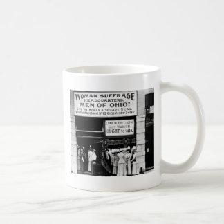 ¡Hombres de Ohio 1912 Taza De Café