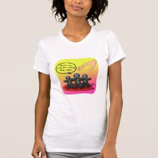Hombres de pan de jengibre con las galletas divert camiseta