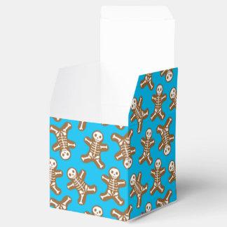 Hombres de pan de jengibre esqueléticos caja para regalo de boda