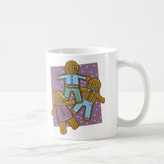 Hombres de pan de jengibre tazas