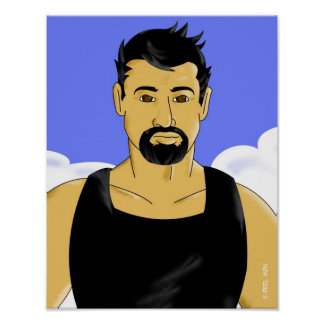 Hombres del carrete: Faustino Póster