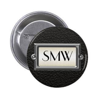 Hombres ejecutivos cones monograma 3-Letter Pin