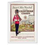 Hombres elegantes británicos del vintage queridos  tarjetas