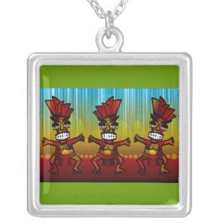 hombres hawaianos de 1312743176_Vector_Clipart Tik Colgante Cuadrado