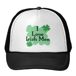 hombres irlandeses gorro