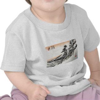 Hombres japoneses y Snowscape no.1 Camiseta