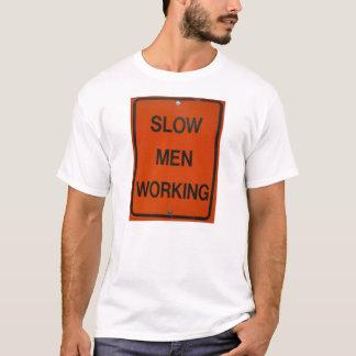 Hombres lentos que trabajan II Playera