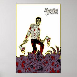 Hombres lobos pila de los odios de Lincoln del lo Posters