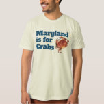 HOMBRES - Maryland está para los cangrejos Playera