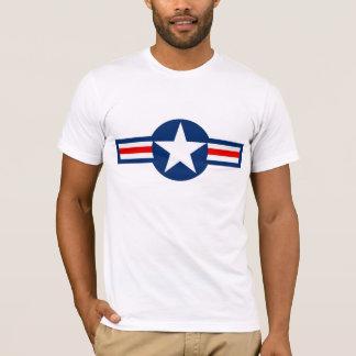 Hombres militares de los E.E.U.U. Roundel Playera