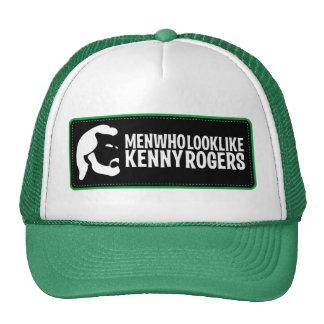 Hombres que parecen el gorra del camionero de Kenn