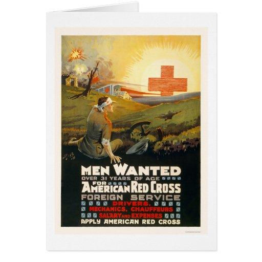 Hombres queridos para el servicio extranjero de la tarjetón