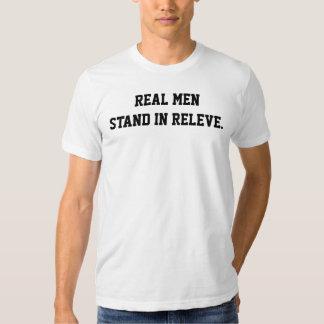 Hombres reales. Camiseta masculina del bailarín Remera