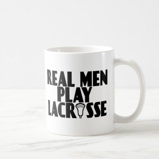 Hombres reales de LaCrosse Taza Básica Blanca