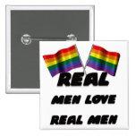 Hombres reales del amor real de los hombres pin