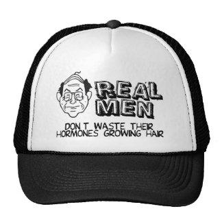 Hombres reales gorro